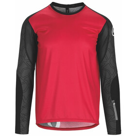 assos Trail Maillot à manches longues Homme, rodo red